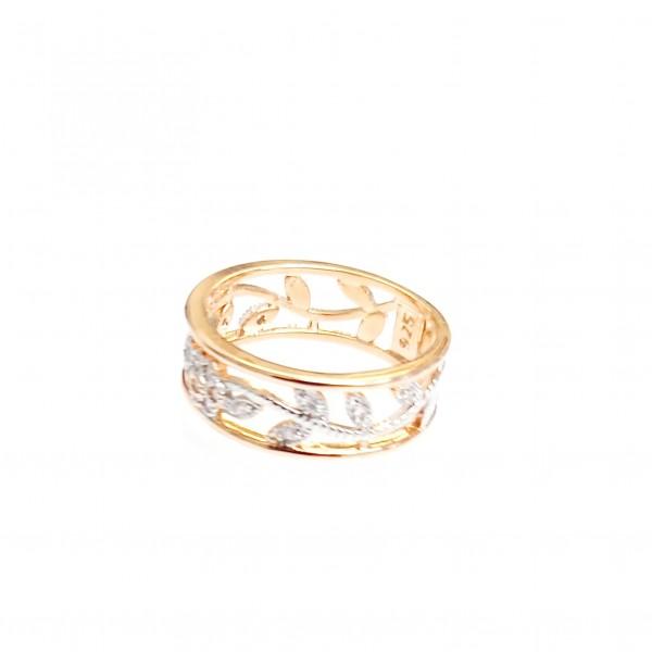 Áttört arany gyűrű