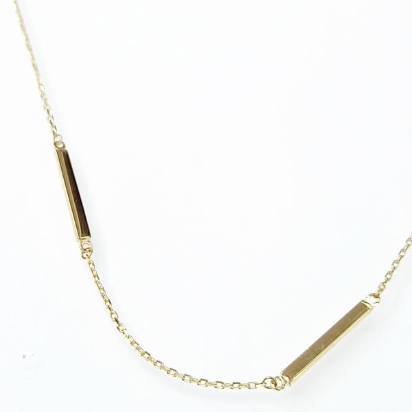 Arany nyaklánc minimál stílusban