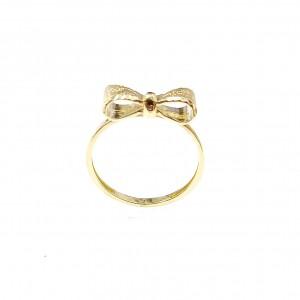 Masni mintás arany gyűrű
